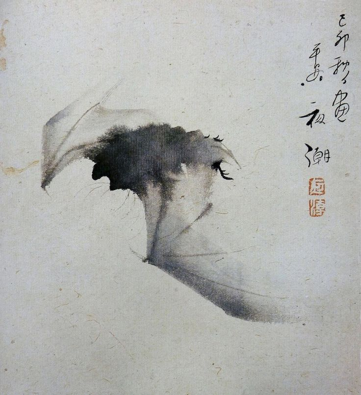 68 best zen painting images on pinterest zen painting japanese yash bat in flight ink on paper ashmolean museum oxford in sciox Gallery