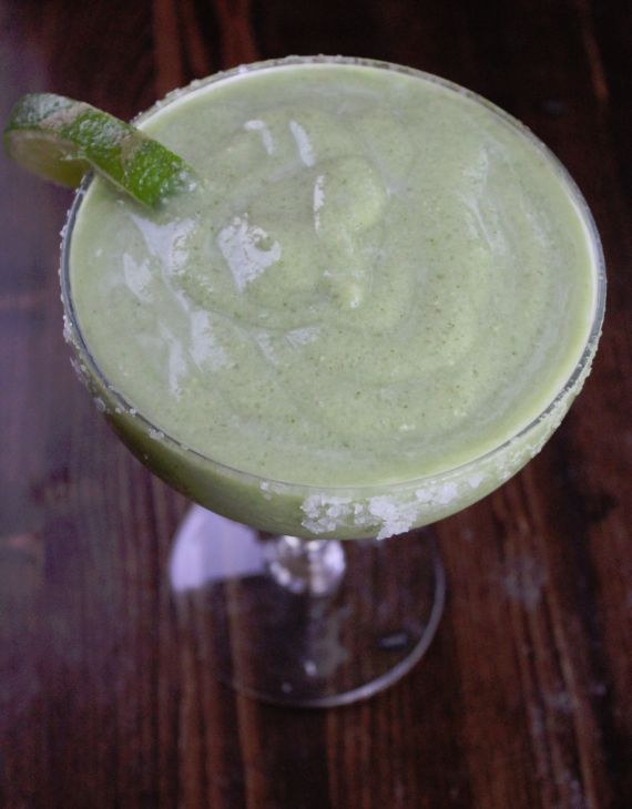 Avocado Margarita Recipe... I love the Avocado Smoothies they make in Hawaii and I love Margaritas so this recipe has me intrigued... must try it. / kj
