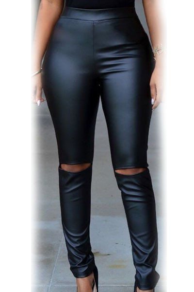 Dear Lover fashion trendy 2016 high waist slim fitness strecth PU penc – Juliana's Leggings Boutique and etc.