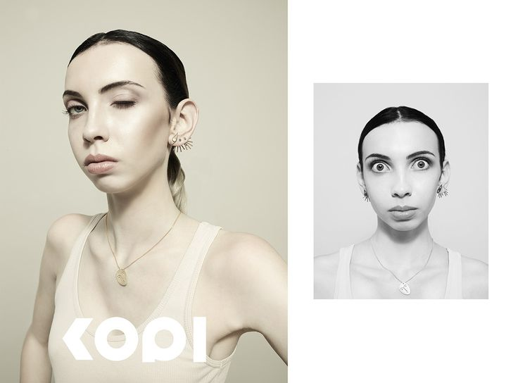 Campaing for a jewellery brand Kopi