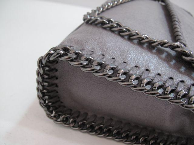 Stella McCartney Fold Over Falabella Bag  Grey