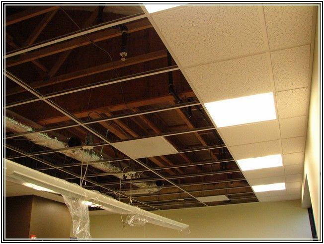 basement lighting for drop ceilings ceiling light