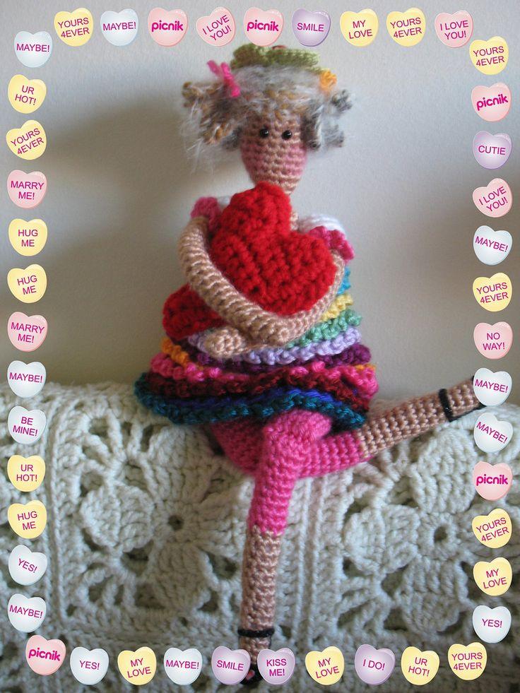 1000+ images about ? Crochet Knit Tilda Dolls ? on ...