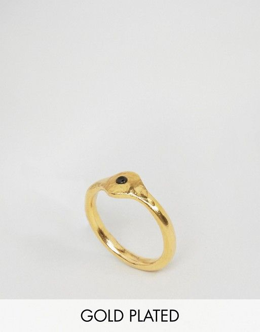 Ottoman Hands | Ottoman Hands Tiny Pebble Flat Ring