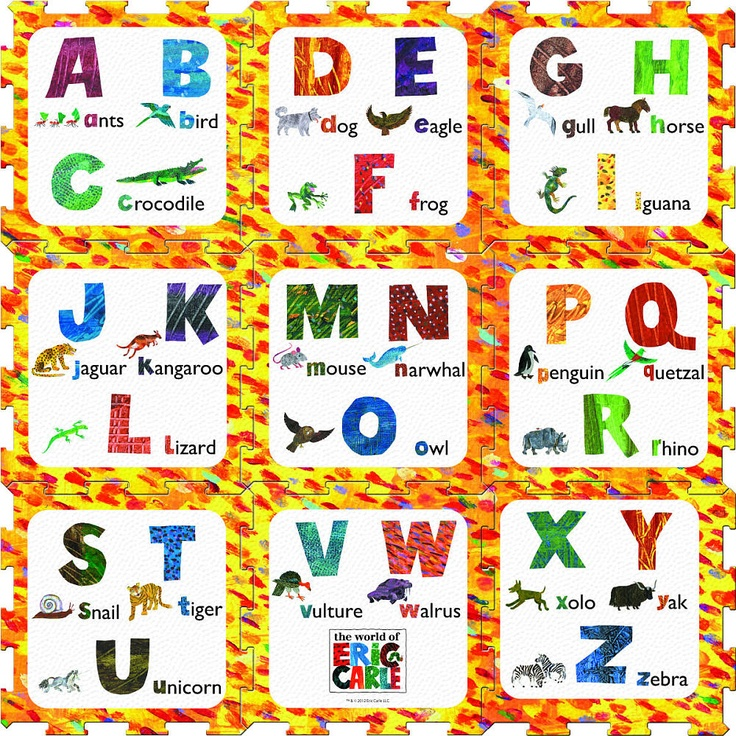 Alphabet Play Mat By Venture Products Discover And Learn