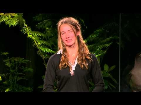 ▶ Youngest solo sailor, around the world at 16: Laura Dekker at TEDxYouth@Auckland - YouTube