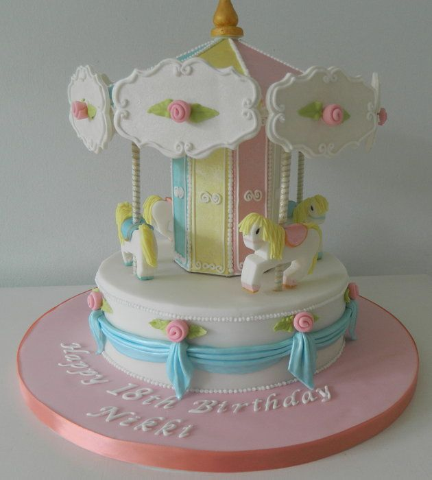 Cake Decorating Carousel : 1000+ images about Carousel party on Pinterest Party ...