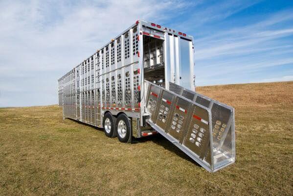 T W Transport Livestock Trailer Washout Service New Cattle Trailers Livestock Trailers Big Rig Trucks