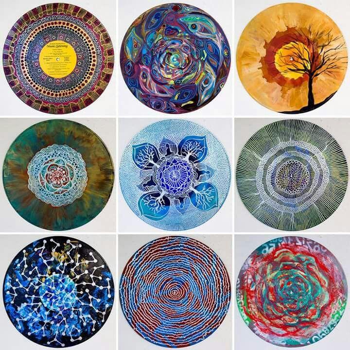 52 best discos de vinilo artesanias images on Pinterest   Discos de ...