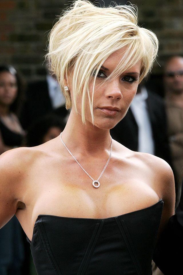 Remember when Victoria Beckham went platinum blonde?