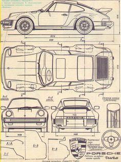 36 best blueprints images on pinterest vintage cars for Old blueprints for sale