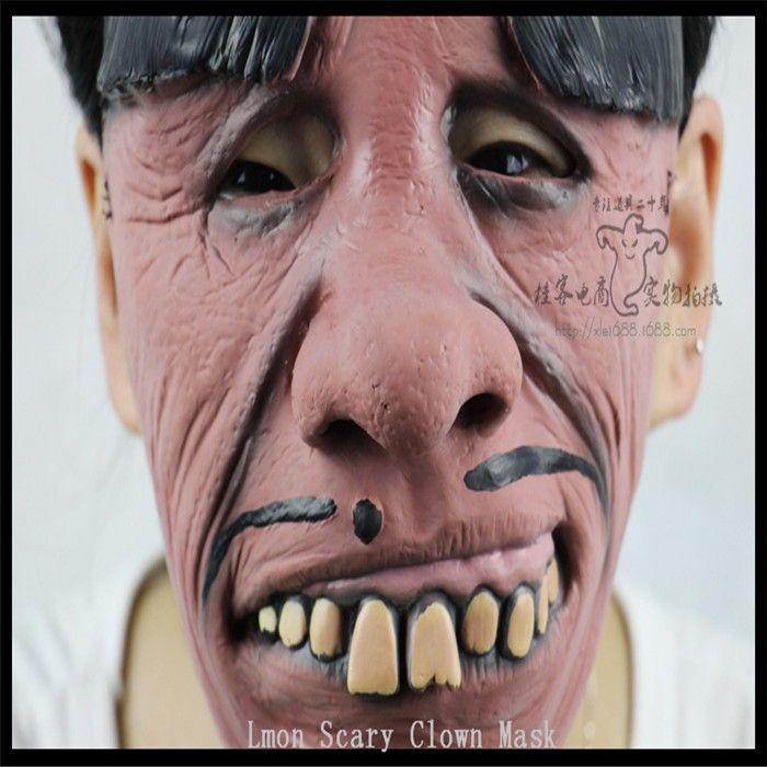 Free shipping New style Halloween clown mask terrorist scary Halloween Clown grimace face mask full Face latex Clown mask  http://playertronics.com/products/free-shipping-new-style-halloween-clown-mask-terrorist-scary-halloween-clown-grimace-face-mask-full-face-latex-clown-mask/