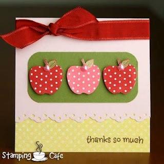 Teacher card --- would be great for teacher gift!
