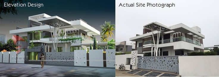"""#Perfect #Elevation #Perfect #Output...!!""  Smart and intelligent use of #architectural and #constructional material  #Contemporary #design by #3DPower ...project in #Jalna  For more details call : 09372032805 OR visit our website www.3dpower.in"