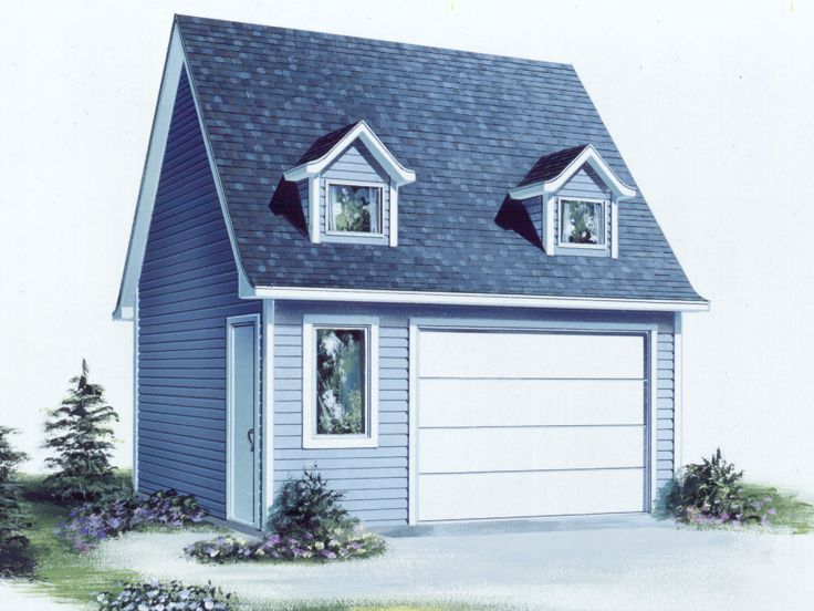 Multiple-Size Garage Plan, 072G-0012