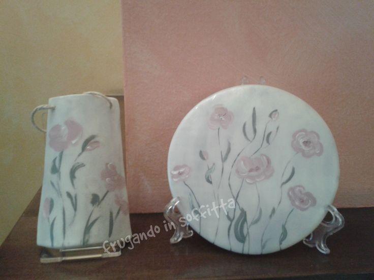 realizzati in pasta gabrylea  e dipinti a mano