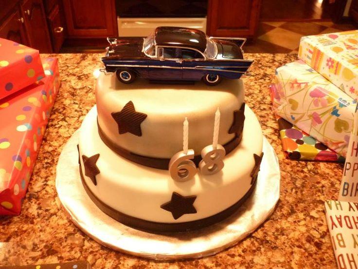 57 chevy cake