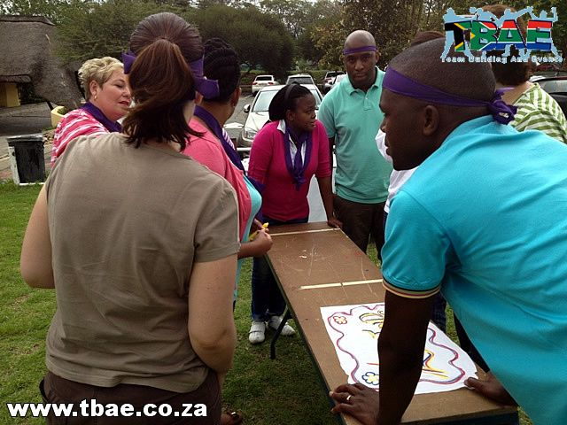 SARS Tribal Survivor Team Building Lanseria Gauteng