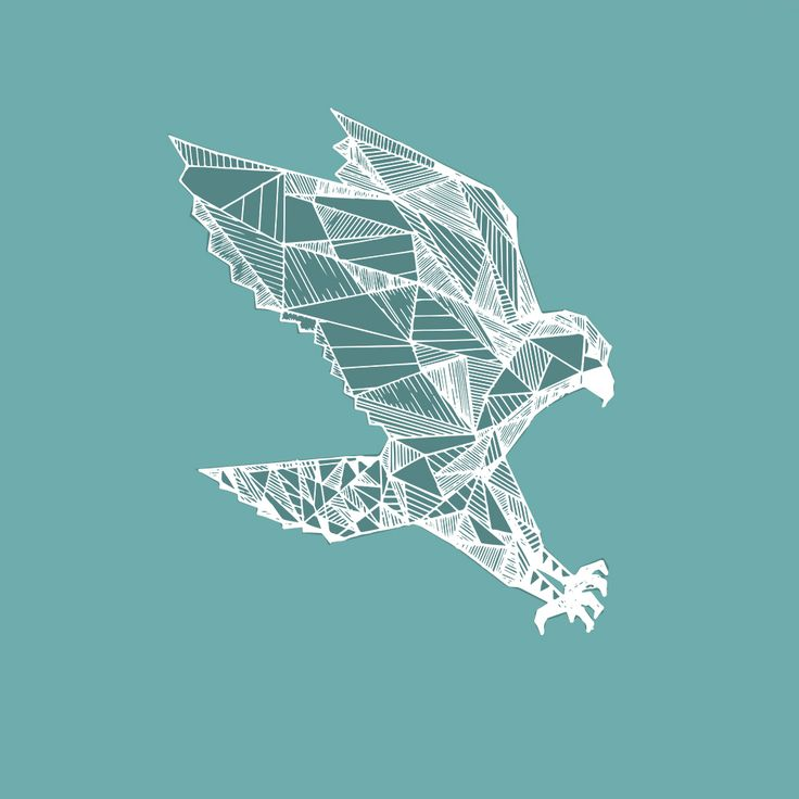 One of our hand drawn designs, that we will then turn into a print for our A/W '15 fabrics.  #inhale #inhaleapparel #indi #boho #hipster #eagle #geometric #animals
