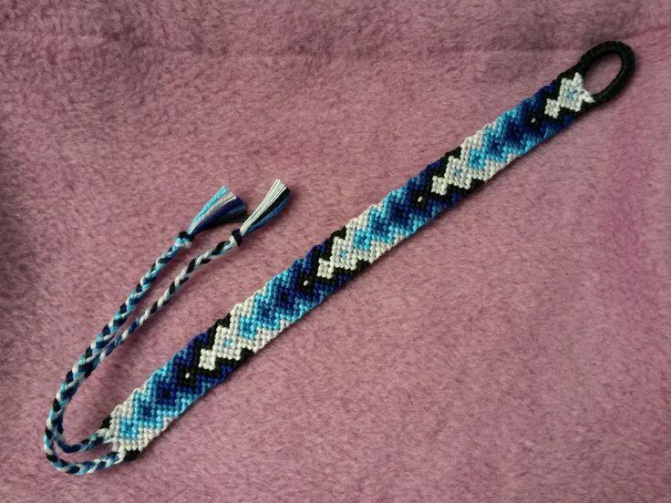 KQ Craft Friendship Bracelet Patterns - Blue Gradient ...