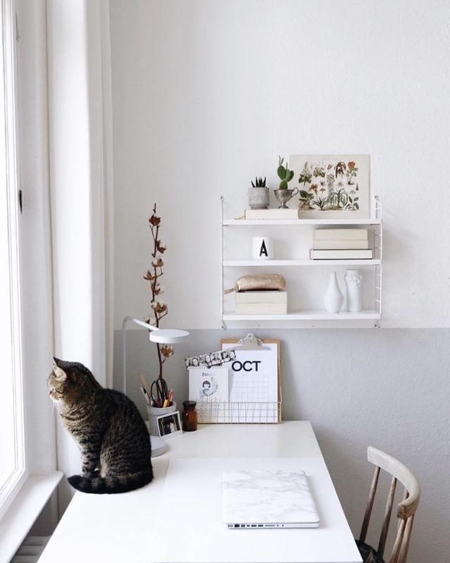 schreibtisch inspiration so macht arbeiten spa in 2019 kreative arbeitspl tze atelier. Black Bedroom Furniture Sets. Home Design Ideas