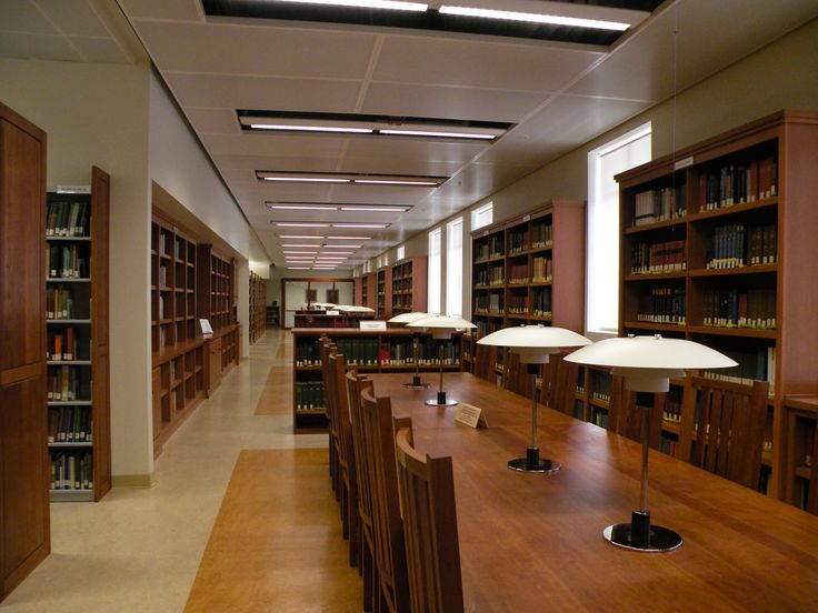 UCLA Campus Map: English Reading Room