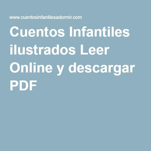 Cuentos Infantiles ilustrados Leer Online y descargar PDF