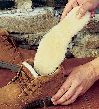 Every shoe becomes as comfy as uggs.