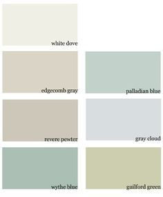 Edgecomb Gray Coordinating Colors Google Search Home