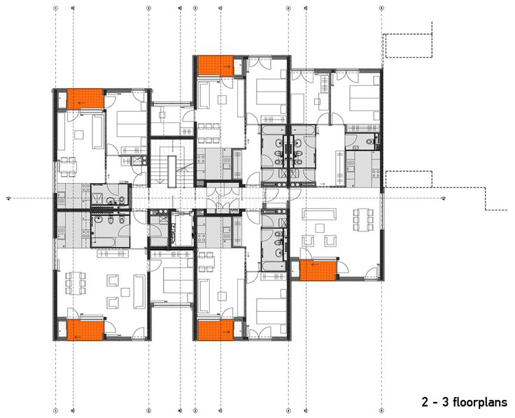 48 best apt building design images on pinterest for Apartment site plan