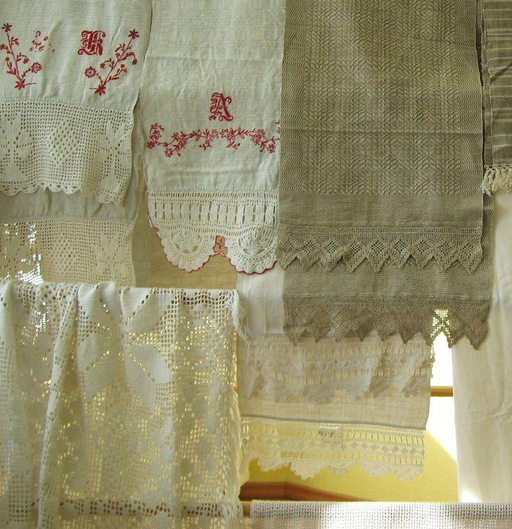 Traditional Latvian textiles. Crochet, embroidery #HandicraftLeader . Skrunda Museum.