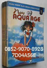 Jual Komik Murah, Komik dan Novel, Komik Murah 2015, Komik Bekas, Buku Komik Murah, Harga Jual Komik, Komik Murah Bekas, Komik Baru, Komik Murah Banget. KOMIK THE NEW AQUA AGE 1-3 the end, by Yabuuchi Yuu. Yuko sudah selangkah maju ke masa remaja. Saat ini Yuko, memulai kehidupan SMP, dan sekelas dengan Hiroshi temannya sejak kecil, dan Takako teman waktu SD. Sebagai siswa baru, Yuko bingung ingin ikut kegiatan apa. Akhirnya, bersama Takako masuk kelompok drum band, dimana ada Kak Han yang…