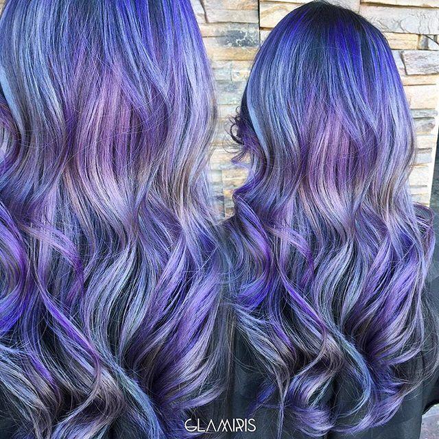 1000 ideas about blue purple hair on pinterest bright