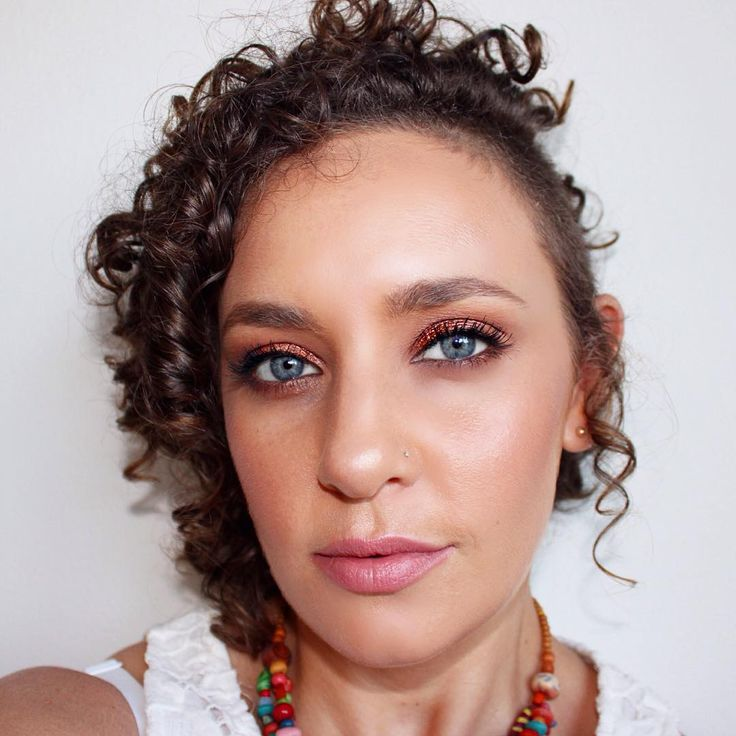 Bronzed makeup look | Kate Franklin Makeup