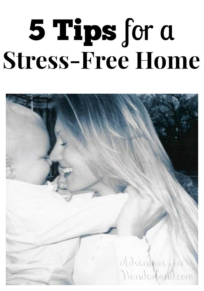 Is your home stressful?  Try these 5 tips for a stress free home.