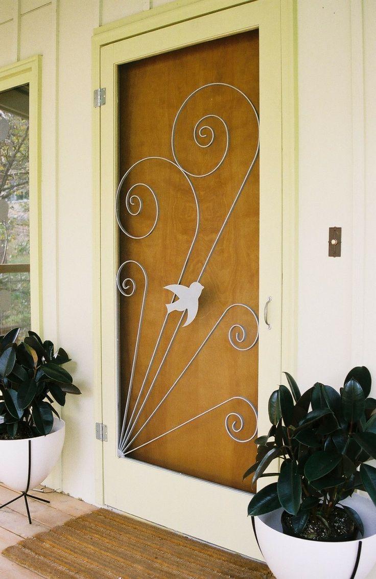 Vintage Style Screen Door Insert,