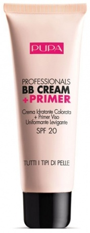 Pupa Milano Professional BB Cream + Primer.  the best makeup ever.