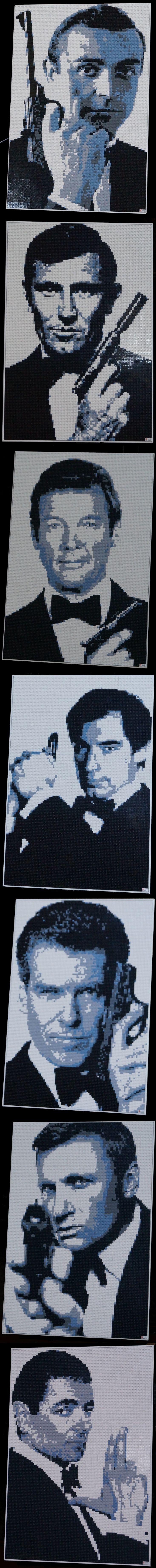 LEGO James Bond Mosaics