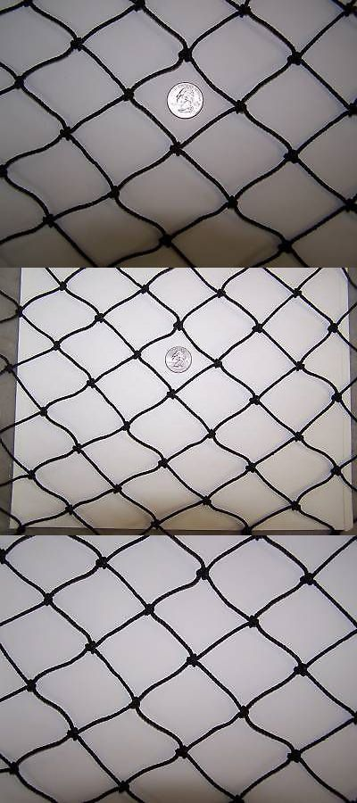 Hay Nets and Bags 159013: 14 X 16 Heavy Duty Round Bale Horse Hay -2 Black Square Nylon Net 1 7/8 #36 BUY IT NOW ONLY: $104.95