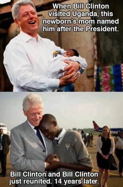 Bill Clinton is best Clinton