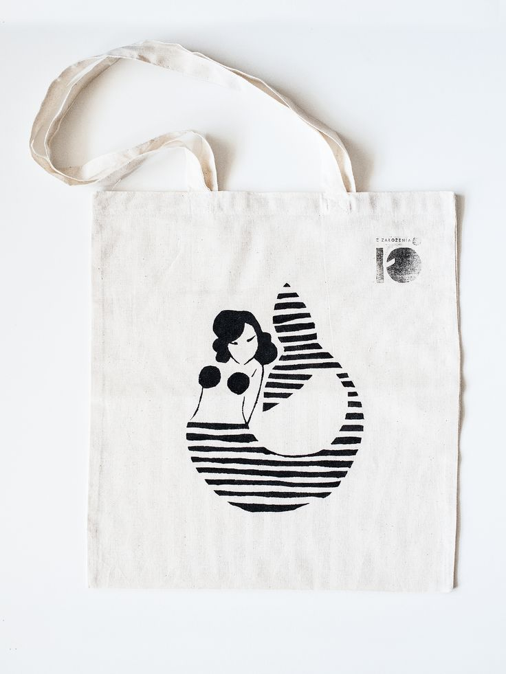 tote bag, cotton, hand made grapic