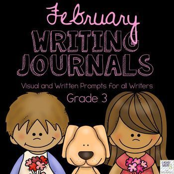 This unit has everything you need to tackle Journal writing for the entire month of February.  It is designed to make it quick and easy for you and your elementary students to complete your journal writing block with as little prep time as possible!