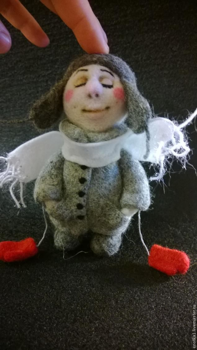 Зимний Ангел - Ярмарка Мастеров - ручная работа, handmade