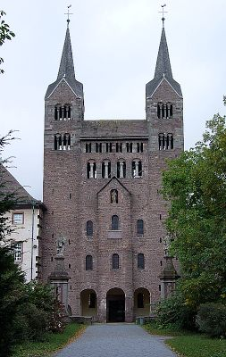 kościół opactwa Corvey (873-885)