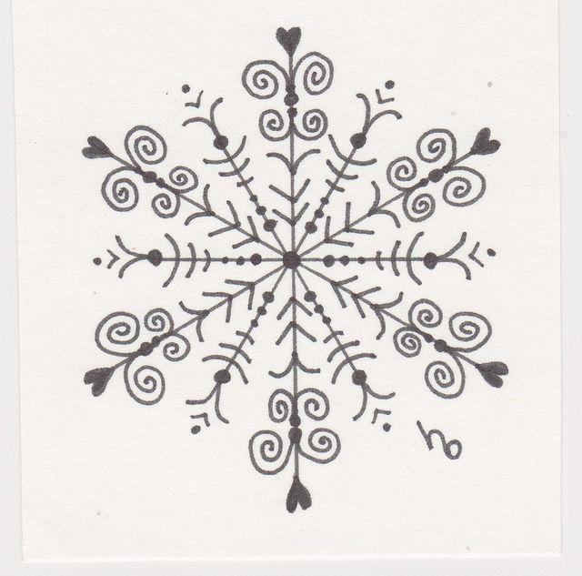 Snowflake Sketch 9 | Flickr