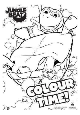 30 best Jungle Beat Colouring Pages images on Pinterest | Characters ...