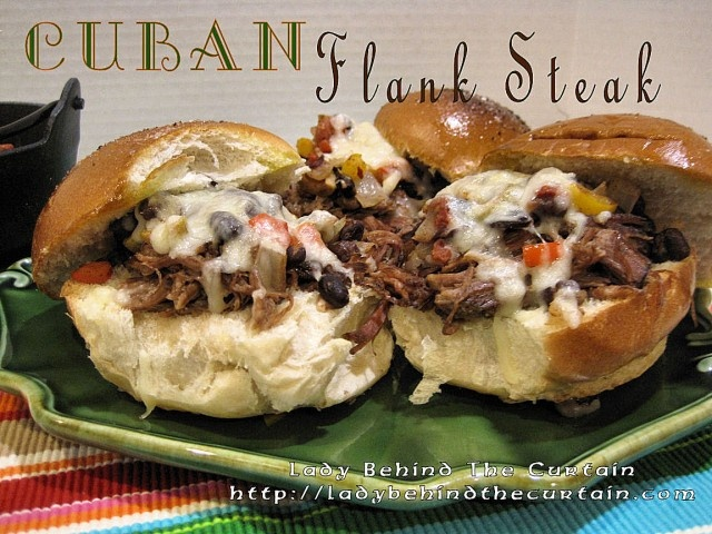 Party Food: Cuban Flank Steak with Picadillo Relish