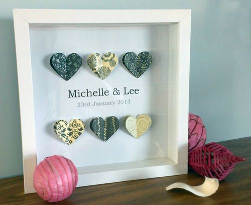 3d Wall Art Gift Wedding Engagement Custom by ColwellDesign, £13.99