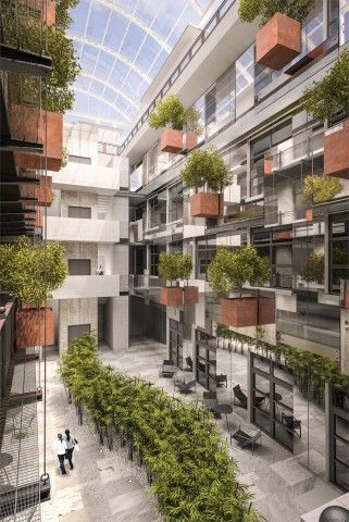 London's Carlow House Puts Green Spaces Centre Stage in Today's Luxury Developments