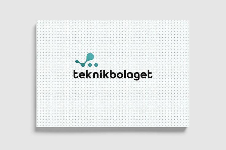 Grafisk profil till Teknikbolaget Scandinavia. Logo.